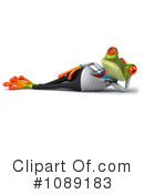 Royalty-Free (RF) Doctor Frog Clipart Illustration #1089183
