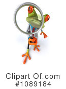 Royalty-Free (RF) Doctor Frog Clipart Illustration #1089184