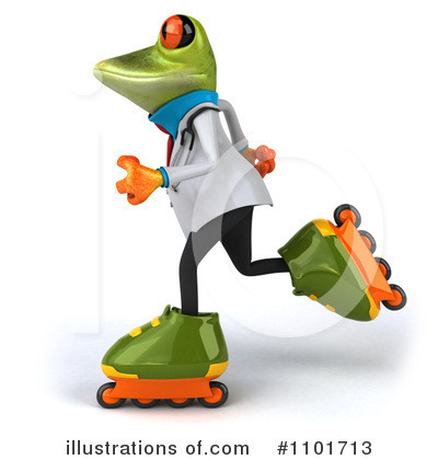 Doctor Frog Clipart #1101713 by Julos