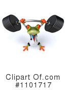 Royalty-Free (RF) Doctor Frog Clipart Illustration #1101717
