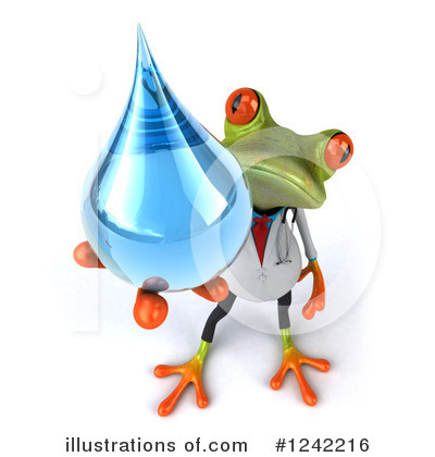 Doctor Frog Clipart #1242216 by Julos