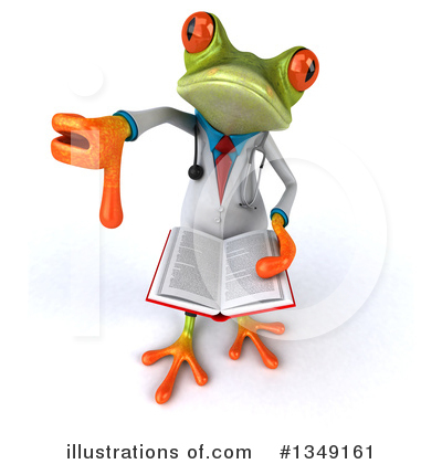Doctor Frog Clipart #1349161 by Julos