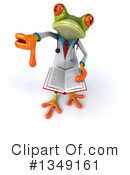 Royalty-Free (RF) Doctor Frog Clipart Illustration #1349161