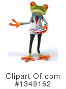 Royalty-Free (RF) Doctor Frog Clipart Illustration #1349162