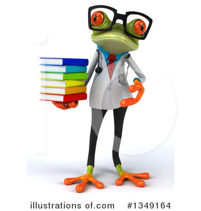 Doctor Frog Clipart #1349164 by Julos