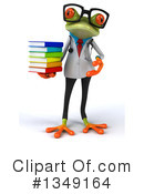 Royalty-Free (RF) Doctor Frog Clipart Illustration #1349164