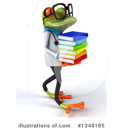 Doctor Frog Clipart #1349165 by Julos