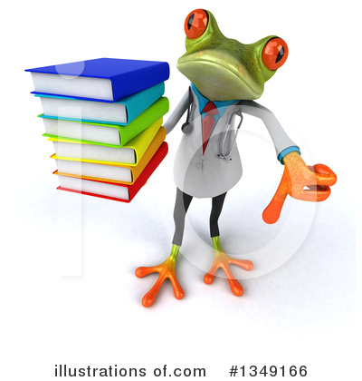 Doctor Frog Clipart #1349166 by Julos