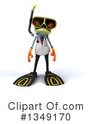 Royalty-Free (RF) Doctor Frog Clipart Illustration #1349170