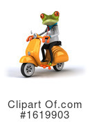 Doctor Frog Clipart #1619903 by Julos