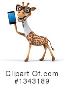 Doctor Giraffe Clipart #1343189 by Julos