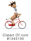 Doctor Giraffe Clipart #1343190 by Julos