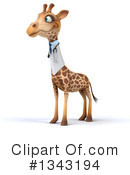 Doctor Giraffe Clipart #1343194 by Julos
