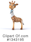 Doctor Giraffe Clipart #1343195 by Julos
