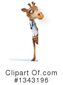 Doctor Giraffe Clipart #1343196 by Julos