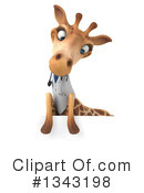 Doctor Giraffe Clipart #1343198 by Julos