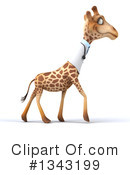 Doctor Giraffe Clipart #1343199 by Julos