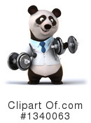 Doctor Panda Clipart #1340063 by Julos