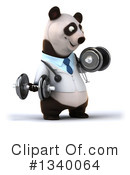 Doctor Panda Clipart #1340064 by Julos