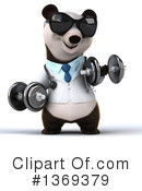 Doctor Panda Clipart #1369379 by Julos