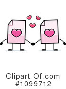 Document Clipart #1099712 by Cory Thoman