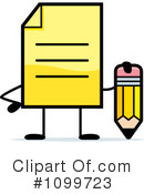 Document Clipart #1099723 by Cory Thoman
