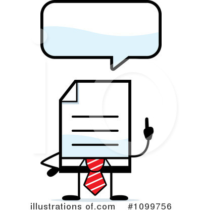 Royalty-Free (RF) Document Clipart Illustration by Cory Thoman - Stock Sample #1099756