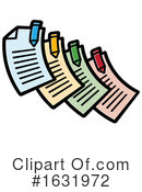 Document Clipart #1631972 by Lal Perera