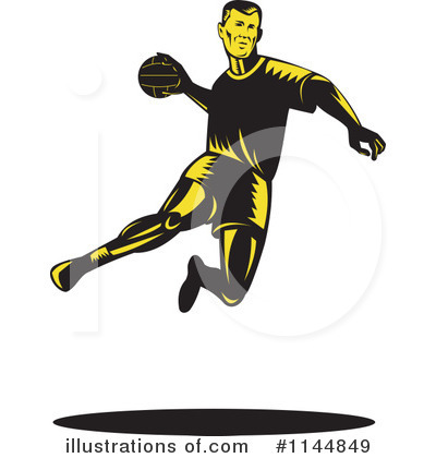 Dodgeball Clipart #1144849 by patrimonio
