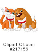 Dog And Cat Clipart #217156 by Pushkin