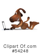 Dog Character Clipart #54248 by Julos