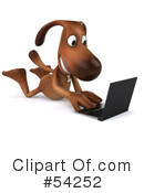 Dog Character Clipart #54252 by Julos