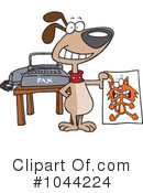 Dog Clipart #1044224 by toonaday