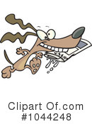 Dog Clipart #1044248 by toonaday