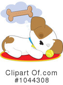 Royalty-Free (RF) Dog Clipart Illustration #1044308