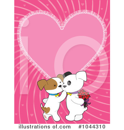 Puppy Love Clipart #1044310 by Maria Bell