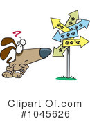 Royalty-Free (RF) dog Clipart Illustration #1045626