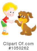 Royalty-Free (RF) Dog Clipart Illustration #1050262