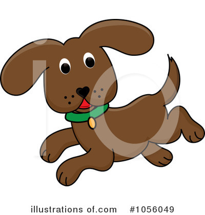 Puppy Clipart #1056049 by Pams Clipart