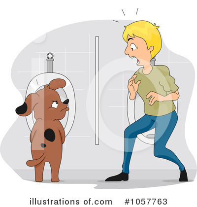 Peeing Clipart #1057763 by BNP Design Studio