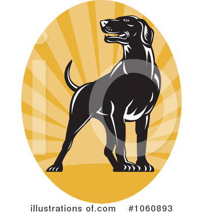 Pointer Dog Clipart #1060893 by patrimonio