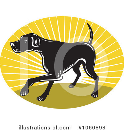 Pointer Dog Clipart #1060898 by patrimonio
