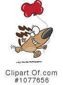 Royalty-Free (RF) Dog Clipart Illustration #1077656
