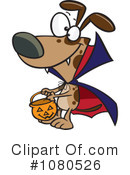 Royalty-Free (RF) Dog Clipart Illustration #1080526