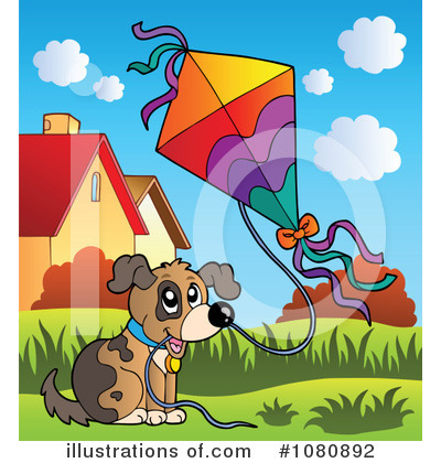 Kite Clipart #1080892 by visekart