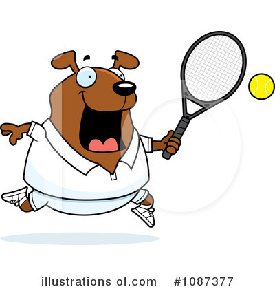 Tennis Clipart #1087377 by Cory Thoman