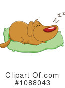 Royalty-Free (RF) Dog Clipart Illustration #1088043