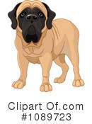 Royalty-Free (RF) dog Clipart Illustration #1089723