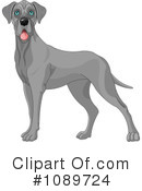 Royalty-Free (RF) Dog Clipart Illustration #1089724