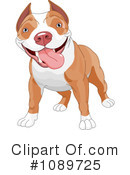 Royalty-Free (RF) Dog Clipart Illustration #1089725